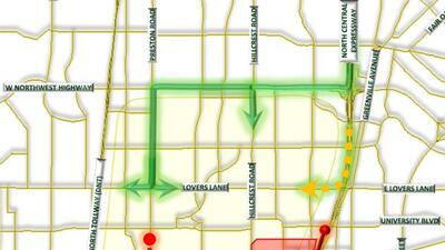 El área en color rojo estará restringidaLínea roja es la que estará cerr...