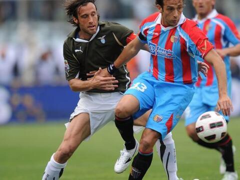 La Lazio visitó al Catania como parte de la jornanda 33 del f&uac...
