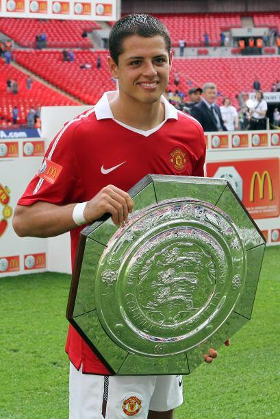 El Manchester United del mexicano Javier 'Chicharito' Hernández l...