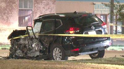 Joven madre muere luego de que su auto fuera impactado de frente por un conductor que invadió su carril