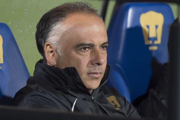 Otro que volvió este torneo a la actividad con Pumas fue Guillermo Vázqu...
