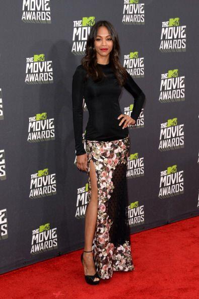 La última edición de los MTV Movie Awards fue en 2013, en donde Zoe Sald...