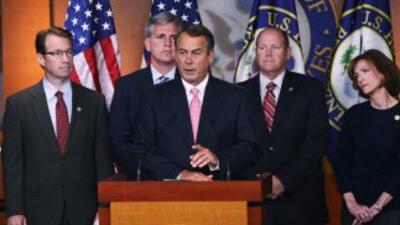 El congresista republicano Lamar Smith aseguró que el líder de l Cámara,...