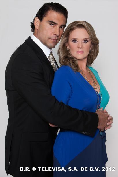 "Érika Buenfil protagonizó ""Amores Verdaderos"" con Eduardo Yáñez."