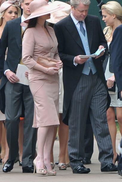 Karen Gordon, esposa de Charles Spencer, hermano de la fallecida Lady Di...