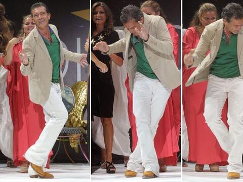 ¡Ya llegó, ya llegó! Ya llegó Antonio el bail...