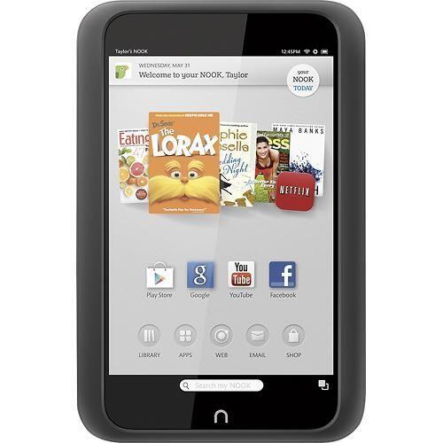 NOOK HD Tablet: pantalla de 7 pulgadas, memoria de 8G y WiFi. Te permiti...