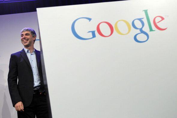 6. LARRY PAGE. El CEO de Google es uno más de los hombres que se...