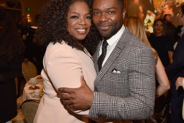 Oprah y David Oyelowo