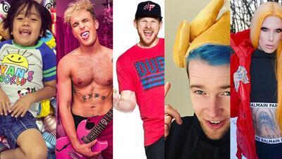 Los 5 'Youtubers' que mas lana hacen en Internet