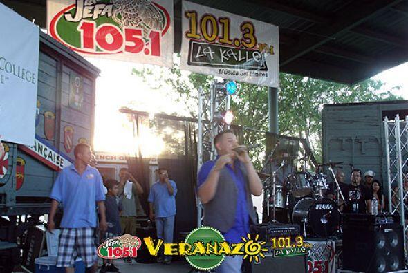 El Güero y su Banda en Veranazo