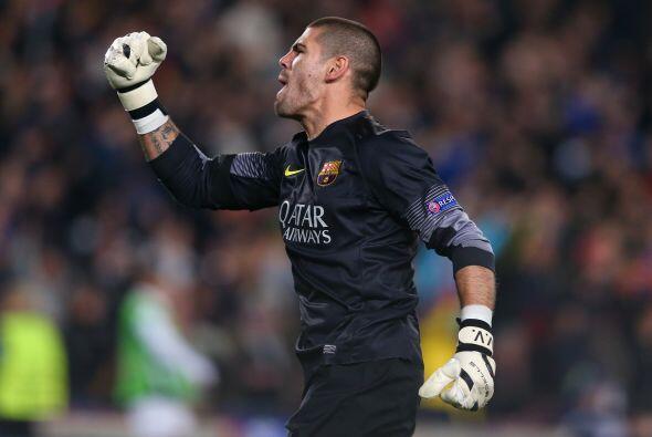 Victoria final del Barcelona, que con el 4-1 global obtuvo su pase a cua...