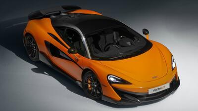 McLaren lanza el 600LT y anuncia gama híbrida para 2025