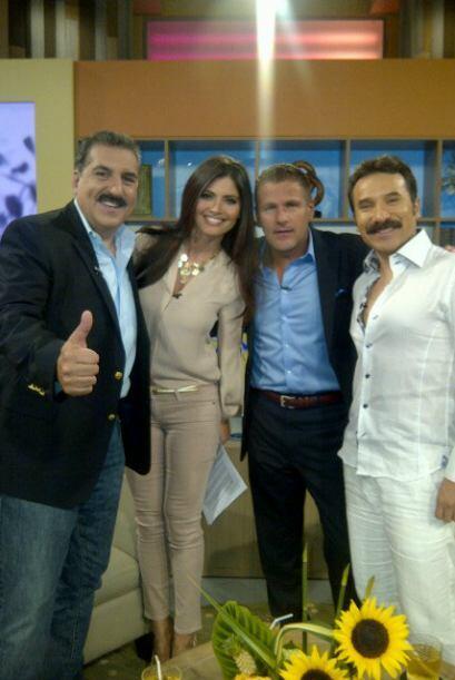 """""""La Hora VIP"""" también ha tenido invitados hombres, como Fernando Fiore,..."""
