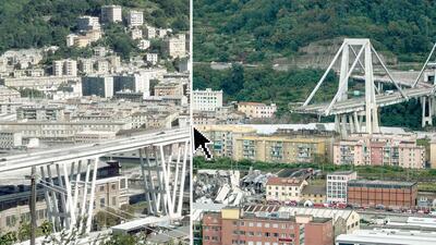Al menos 39 muertos tras el derrumbe de un puente en una autopista en la ciudad italiana de Génova