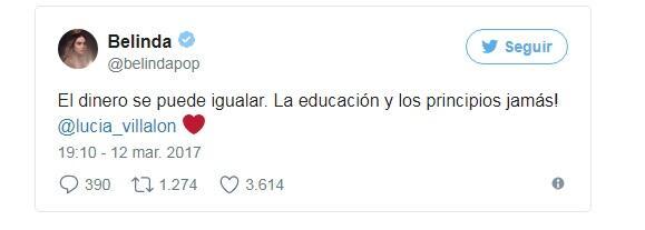 """La princesa del pop dedicó este tuit a la ex novia de """"Chicharito"""" Herná..."""