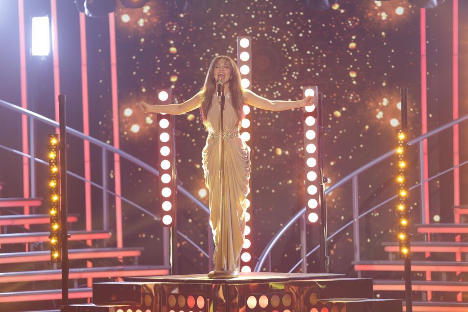 La estrella mexicana conquistó a las bellas y al público con una magistr...