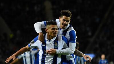 Tiquinho fue el autor del gol de la victoria del Porto.