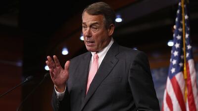 John Boehner: me voy por presiones del partido