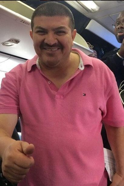 """El Turky tuvo la oportunidad de viajar en primera clase, gracias a """"La G..."""