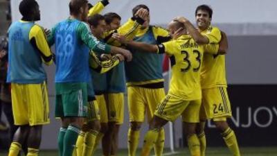 Columbus Crew ganó su segundo partido del año.