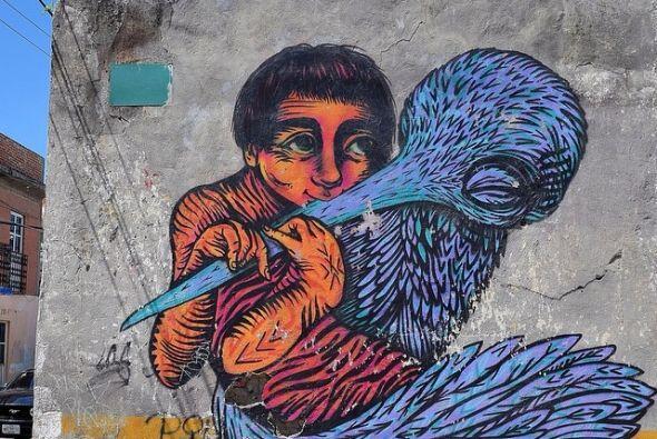 El Niño y el Pájaro flautista en Cholula  Fotos por usuarios de Instagram