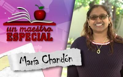 Un Maestro Especial 2017: Maria Chandon
