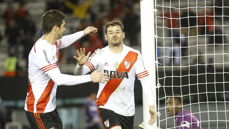 River Plate se impuso 2-0 a la Liga de Quito.