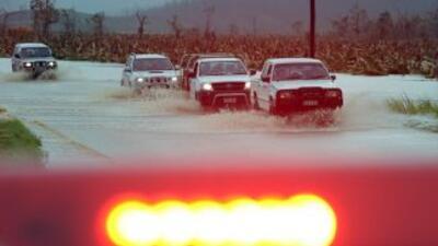 Los caminos en el noroeste de Australia quedaron inundados tras el paso...