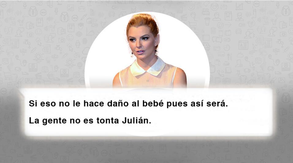 """Julián Gil: """"Llevo tristeza en el corazón por el niño y por todos los in..."""