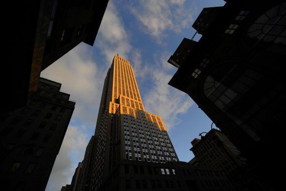 El Empire State Building es el rascacielos más alto de la ciudad desde l...