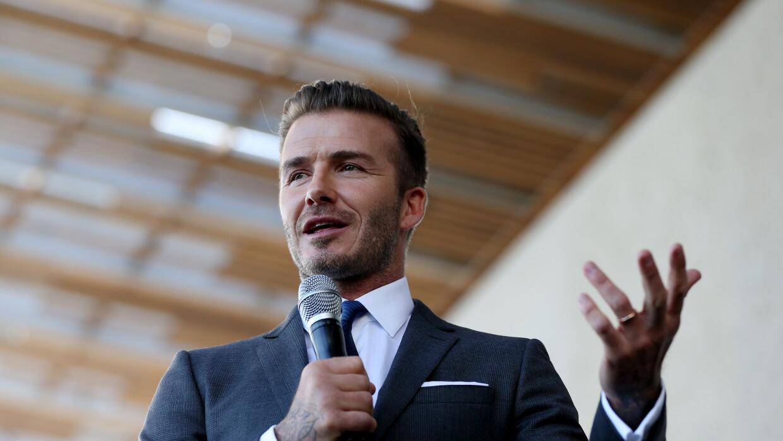 El grupo de David Beckham avanza con su equipo en Miami.