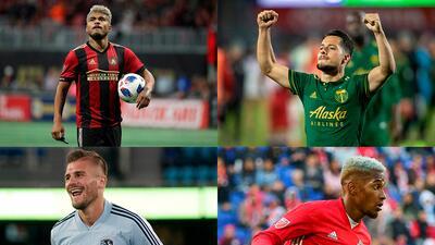 En fotos: los referentes latinos que lucharán por los títulos de Conferencia en la MLS