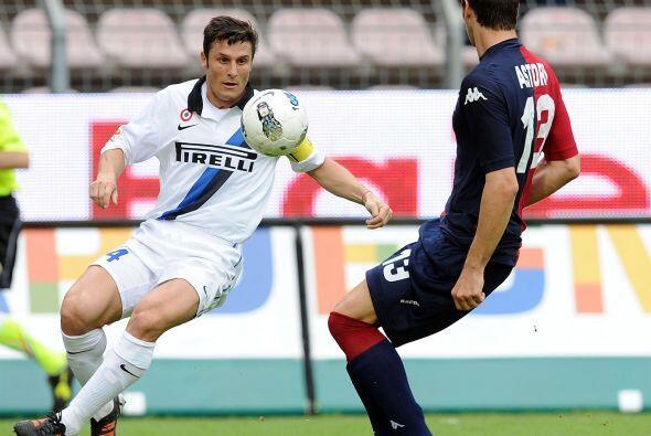 En otro de los partidos destacados, Inter empató con el Cagliari.