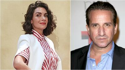 La actriz María de la Fuente y el actor Plutarco Haza.