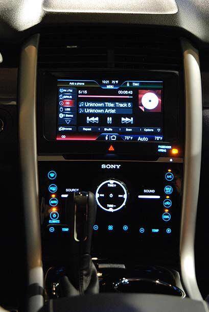 La tecnología MyFord Touch que ofrece una forma simple, inteligente y se...