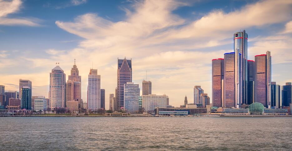 Las ciudades grandes más asequibles de Estados Unidos detroit.jpg