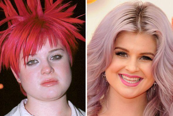 Uno de los cambios más drásticos que hemos visto es el de Kelly Osbourne...