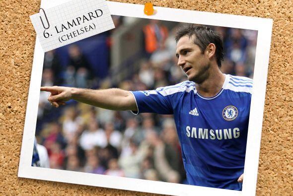 Ya tenía semanas sin aparecer en el Once ideal, pero Frank Lampard esta...