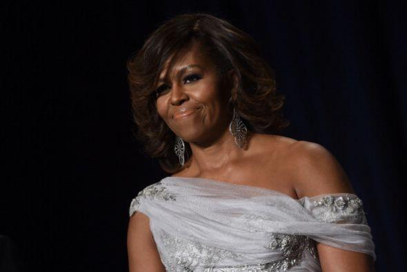 Obama fue anfitriona de miembros del mundo de la moda, la farándu...