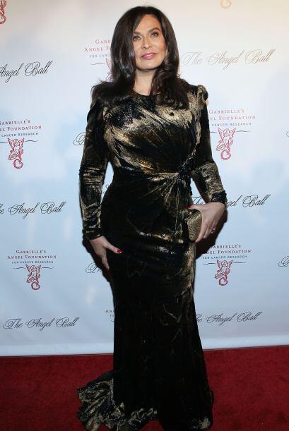 Tina Knowles, es la mamá de la cantante Beyoncé.
