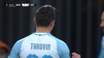 ¡GOOOL! Florian Thauvin anota para Marseille