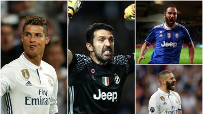 El equipo de la semana de la Champions quedó plagado de jugadores del Madrid y la Juventus