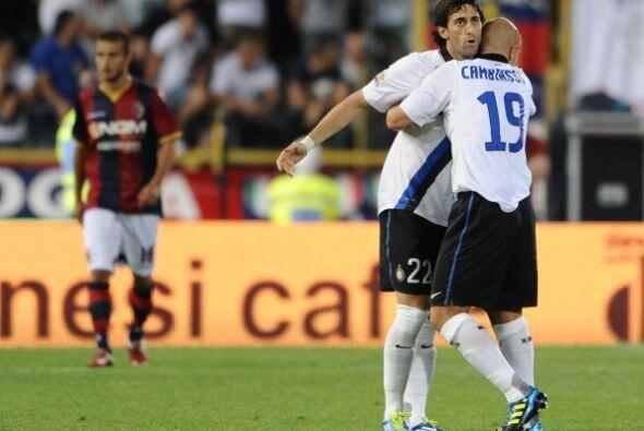 Milito y Cambiasso prefieren el bolero.