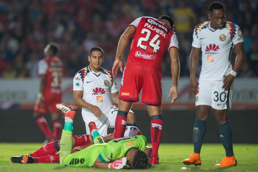 Bruno Valdez salvó al América de perder en casa del Veracruz 20180218-59...