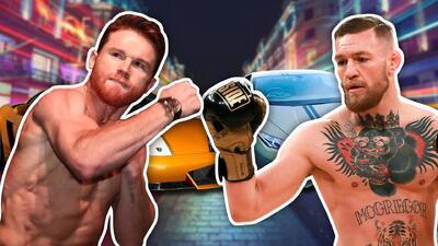 'Canelo' Álvarez vs McGregor: dos titanes con gusto refinado por los autos