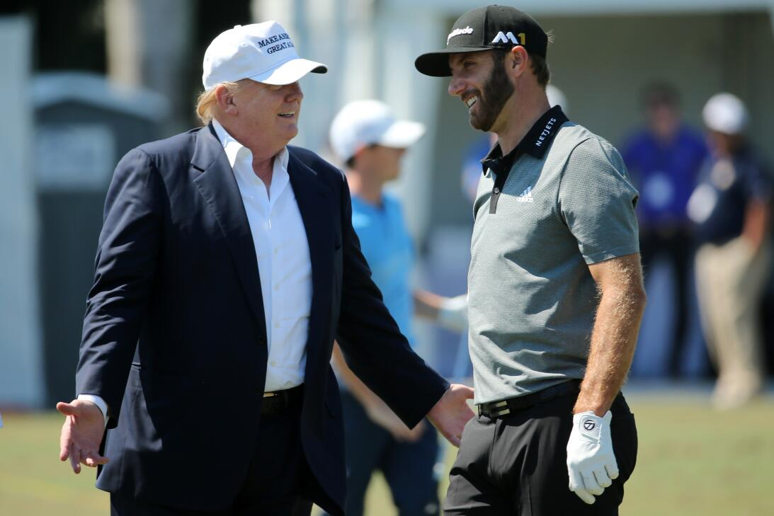 Los amigos de Donald Trump en el golf internacional gettyimages-51403865...