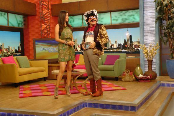 No cabe duda que que Raúl, caracterizado o no, siempre nos saca u...