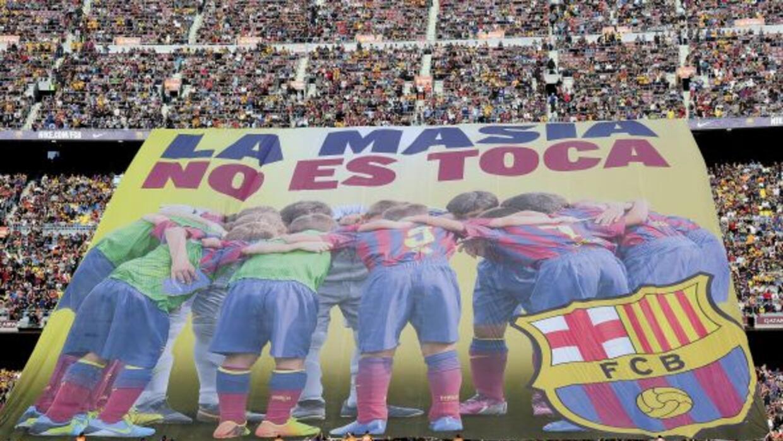 La Masía lleva años destacando como la base del fútbol 'blaugrana', dond...