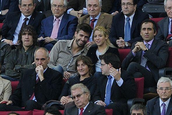Piqué y Puyol fueron dos de los jugadores que el entrenador Guardiola de...